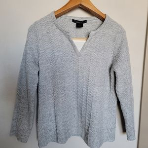 United states sweaters knit gray sweater